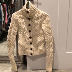 Super thick hand knit ruehl no 925 sweater